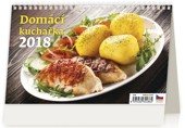 Domácí kuchařka - stolní kalendář 2018