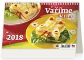 Vaříme s dětmi - stolní kalendář 2018