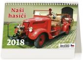 Naši hasiči - stolní kalendář 2018