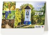 Naši vinaři - stolní kalendář 2018