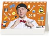 Vychytávky Ládi Hrušky - stolní kalendář 2018