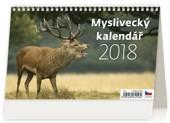 Myslivecký kalendář - stolní kalendář 2018