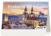 Praha - stolní kalendář 2018