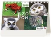 Prima ZOOM - stolní kalendář 2018