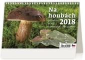 Na houbách - stolní kalendář 2018