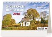 Z českých luhů a hájů - stolní kalendář 2018
