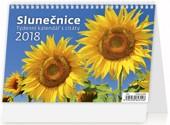 Slunečnice - stolní kalendář 2018