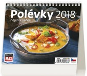 MiniMax Polévky nejen k večeři - stolní kalendář 2018